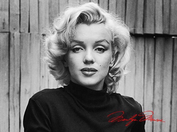 Timeless style, inspired by a Hollywood beauty, Marilyn Monroe.