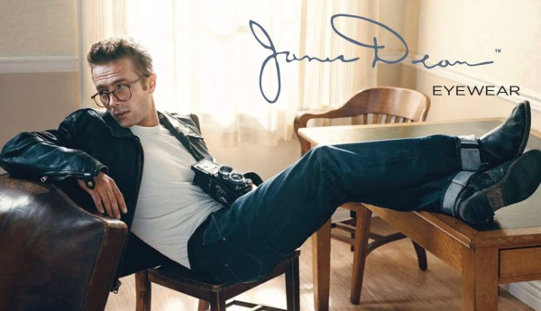 James Dean inspired eyewear collection